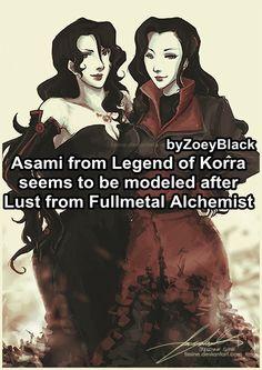 Fullmetal Alchemist / Brotherhood, Legend of Korra