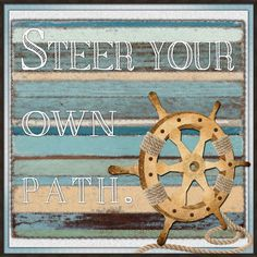 Steer Your Own Path Framed Print
