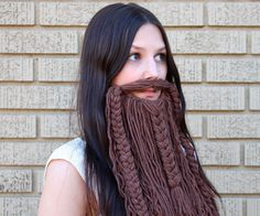 I love beards. I have always wanted one! I was looking at Halloween costumes for research and I came across this dwarven beard on Think Geek and really wanted one...