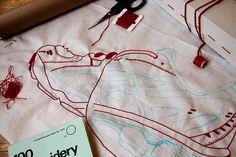 Sugen på att brodera med inte är så haj på att teckna själv? Lär dig brodera ett motiv från en bild eller ett foto. Feeling Stitchy har gjort tydliga bildinstruktioner.