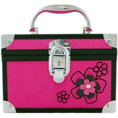 Maleta Frasqueira Jacki Design Flor JPC2600 Pink - Megazim
