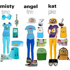"""""""adventure time outfit"""" by kat-vanity-mimona on Polyvore"""