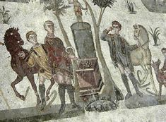 """Roman Villa grill, Piazza Armerina, Sicily """"Whoring under every green tree"""" paganism what Bible meant by that verse beside solstice christmas tree."""
