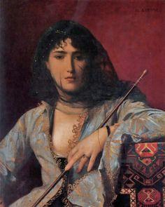 Jean-Léon Gérôme ( French artist, 1824–1904) Circassian Girl