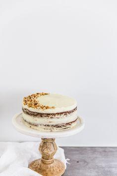 hazelnut torte with mascarpone icing