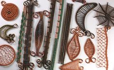 Bead&Button Show: Bead&Button Show Workshops & Classes: Sunday June 1, 2014: B141413 Wire Weaving Basics