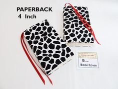 Stretch Paperback Book Cover ANIMAL Fabric with Bookmarks Mass Market Size 4 x 6.75 in Back to School by SEWINGtheABCs on Etsy