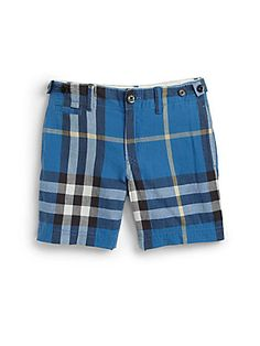 Burberry Little Boy's Check Shorts