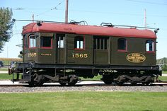 Illinois Terminal Railroad #1565.  Electric boxcab built by Illinois Terminal Shops in 1910.