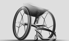 The London-based studio Layer, helmed by Benjamin Hubert, has just unveiled designs for a personalized, made-to-measure 3D-printed wheelchair.