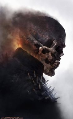 Ghost Rider by Dave Rapoza                                                                                                                                                                                 Mais