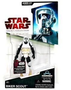 Biker Scout GUN//Blaster Repro//remplacement arme figurines Star Wars