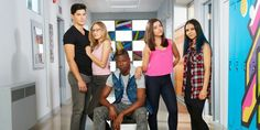 Degrassi cast Tiny,Maya,Zig,Grace,Zoey