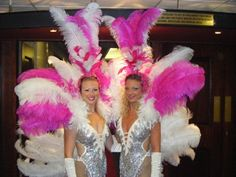 ooo la la, have show girls at your event. perfect for any occasion.