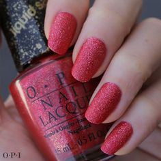 "Looking for a RED HOT mani? Try our limited edition ‪#‎CouturedeMinnie‬ ‪#‎LiquidSand‬ shade ""Magazine Cover Mouse."" It looks great on it's own or also works well in nail design. Check out some looks we love in ‪#‎MinniesCloset‬: https://www.facebook.com/OPIProducts/app_270415943095310"