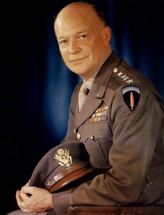 """General Dwight D. Eisenhower was our 34th President after he served as the Supreme Commander of the Allied Forces in World War 2. Elected under the slogan """"I like Ike,"""" he was the only President to preside over 8 years of peace and prosperity. The best biography of Ike is """"Eisenhower in War and Peace"""" by Jean Edward Smith, but """"Eisenhower: Soldier and President"""" by Stephen Ambrose is nearly as good and 300 pages shorter."""