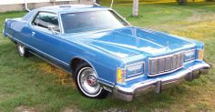 1978 Mercury Grand Marquis - We have a 1985 Old American Cars, American Classic Cars, American Muscle Cars, Us Cars, Sport Cars, Retro Cars, Vintage Cars, Mercury Marquis, Edsel Ford