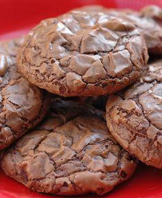 Brownie Cookies Source: pureandyummy
