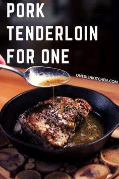 This wonderful pork tenderloin recipe is the best! Juicy, extra tender, and filled with flavor, this tenderloin cooks in the oven and can be ready in just 30 minutes! Coated with herbs, garlic and butter, you won't believe how easy it is to make.