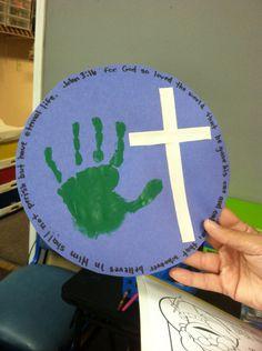 Day 1 Sweet Love - John 3:16 Craft