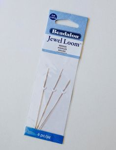 Jewel Loom Replacement Needles 6-pack  3.99. Works with Jewel Loom, extra long needles