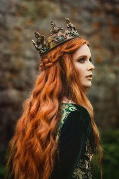 Your place to buy and sell all things handmade hair poses – Hair Models-Hair Styles Poses, Celtic Goddess, Photo Portrait, Fantasy Photography, Natural Beauty Tips, Medieval Fantasy, Medieval Hair, Ginger Hair, Redheads
