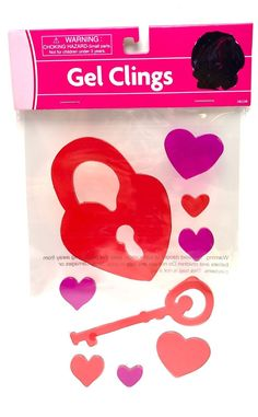 #keywebco Valentine Gel Cli... found at  http://keywebco.myshopify.com/products/valentine-gel-clings-key-heart-washable-window-or-surface-no-glitter-solid-new?utm_campaign=social_autopilot&utm_source=pin&utm_medium=pin