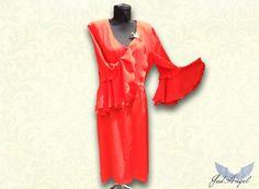 Dress  Women Summer Victorian Red Dress  Women by JadAngel on Etsy