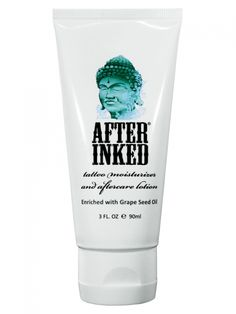 After Inked Daily Tattoo Moisturizer & Aftercare Lotion 3oz#inkedshop #tattoocare #aftercare #moisturizer #lotion