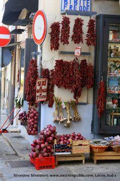 Pepper of Trebisacce, Calabria, Italy