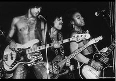 Three of the greatest guitar players on the planet. L to R: Andre Cymone, Prince Nelson, Dez Dickerson. MN boys done good!