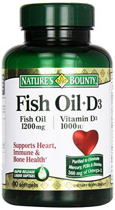 FISH OIL 1200 mg + VITAMIN D 1000 IU PHARMACEUTICAL GRADE SOFTGELS Nature's Bounty http://www.amazon.com/dp/B0061GLOYI/ref=cm_sw_r_pi_dp_kppYvb16B6P13