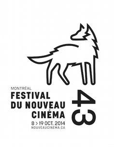 Logo 43e FNC blanc vertical avec dates