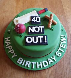 We have compiled 80 delicious and unique birthday cakes models catalogue for To make you're loved once birthday with photos and names. Birthday Cake Models, 30th Birthday Cakes For Men, Birthday Cake For Husband, Unique Birthday Cakes, 50th Birthday, Birthday Parties, Cricket Birthday Cake, Cricket Theme Cake, Cake Design For Men