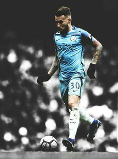 Nicolas Otamendi in Manchester City.  #Edit #NicolasOtamendi #ManchesterCity