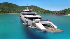 OTTANTACINQUE by Pininfarina – 85 m Luxury Yacht