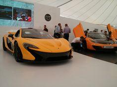 McLaren P1 and McLaren MP4-12C