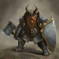 Dwarf Battle Instructor by BABAGANOOSH99 on DeviantArt