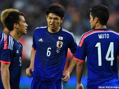 Masato Morishige - CB - #6 KIRIN CHALLENGE CUP Japan vs. Jamaica at DENKA BIG SWAN STADIUM 2014-10-10