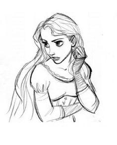 Disney Concept Art - Rapunzel