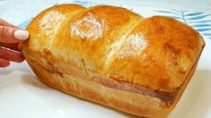 Bread, Youtube, Food, Easy Trifle Recipe, Delicious Recipes, Pies, Sandwich Loaf, Cooking, Brot