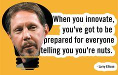No. 7 Larry Ellison #entrepreneurs #Inspiration #quotes