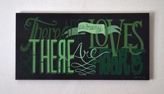 There are as many loves as there are hearts by Belén Isasi, via Behance