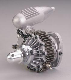 Wankel model aircraft engine, very cool, love to hear it run.