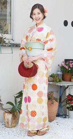 Yukata. Yukata is summer casual Kimono.