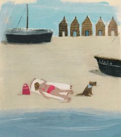 Sunbathing by Hannah Cole.