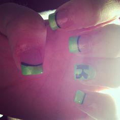 Kawasaki nails<3