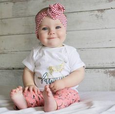 « FAWNING OVER YOU » Valentine's day baby onesie - The Pine Torch. Babies first valentine's day, baby girl valentine outfit.