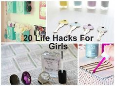 So creative. Things for girls/adults!