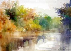 The Power of Edges in Painting - WetCanvas watercolor by: Fabio Cembranelli